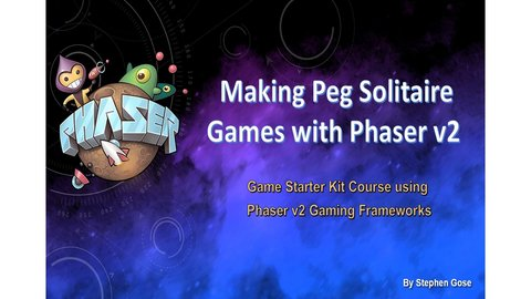 Making Peg Solitaire Browser Games with Phaser