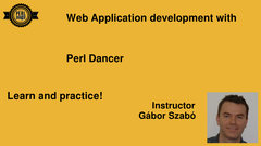 Perl Dancer Course