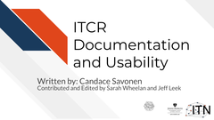 Documentation and Usability