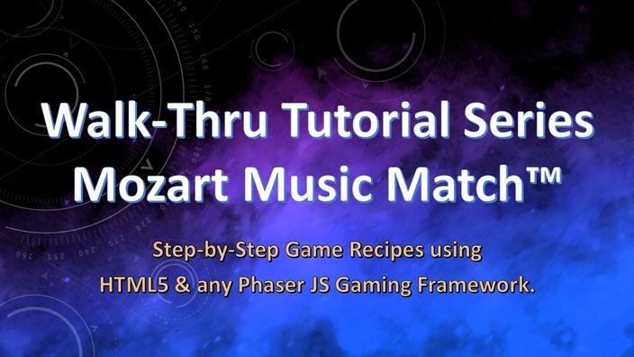 """Walk-Thru Tutorial Series"" - Mozart's Music Match"