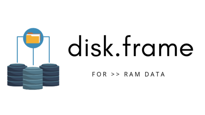 Taming Larger-than-RAM data with disk.frame